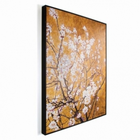 Luxusní obraz 102417, Oriental Blossom Hand Painted, Květy, Wall Art, Graham Brown
