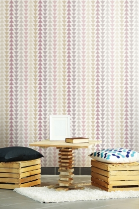 SALE - LAST 4 PIECES Non-woven wallpaper with a geometric pattern A18401, Vavex 2019