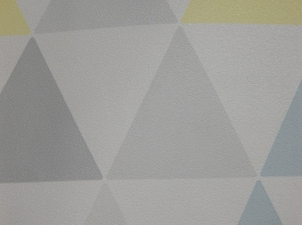 Non-woven wallpaper with geometric pattern 32-829, Vavex 2019