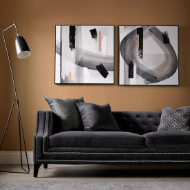 Rámovaný set Monochrome Radiance 104016, Wall Art, Graham Brown