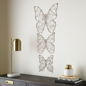 Kovová dekorace Flutter Metal Art 104034, Wall Art, Graham Brown