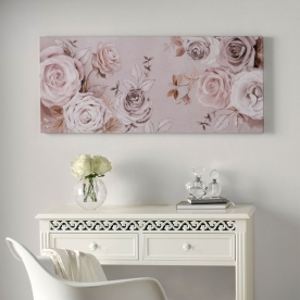 Bezrámový obraz Růže, Mixed Media Rose Trail 41-834, Wall Art, Graham Brown