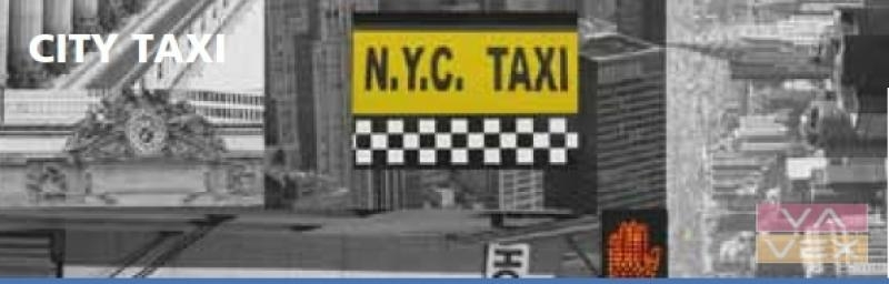 adhesive foils City taxi 11916