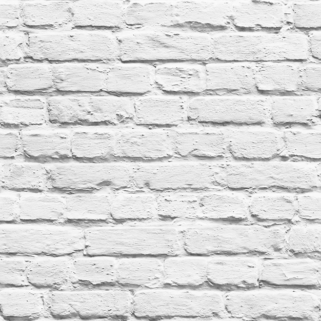 Paper wallpaper, white bricks, L22609, Bricks, Vavex 2019