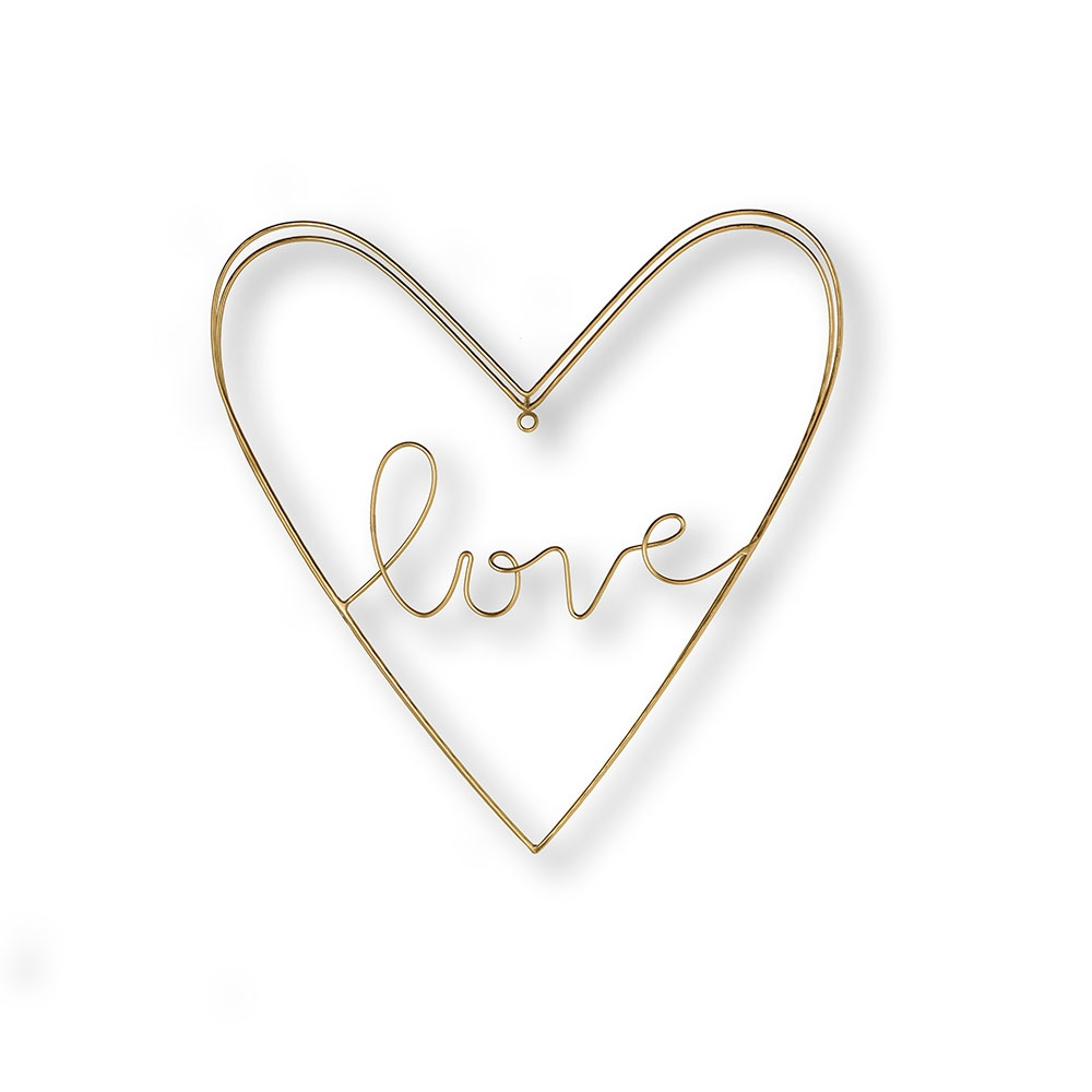Kovová dekorace Gold Amour Metal Art 104032, Wall Art, Graham Brown
