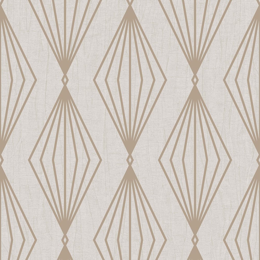 Luxury non-woven wallpaper with a vinyl surface 111309, Jewel, Graham & Brown, Geometry, Vavex