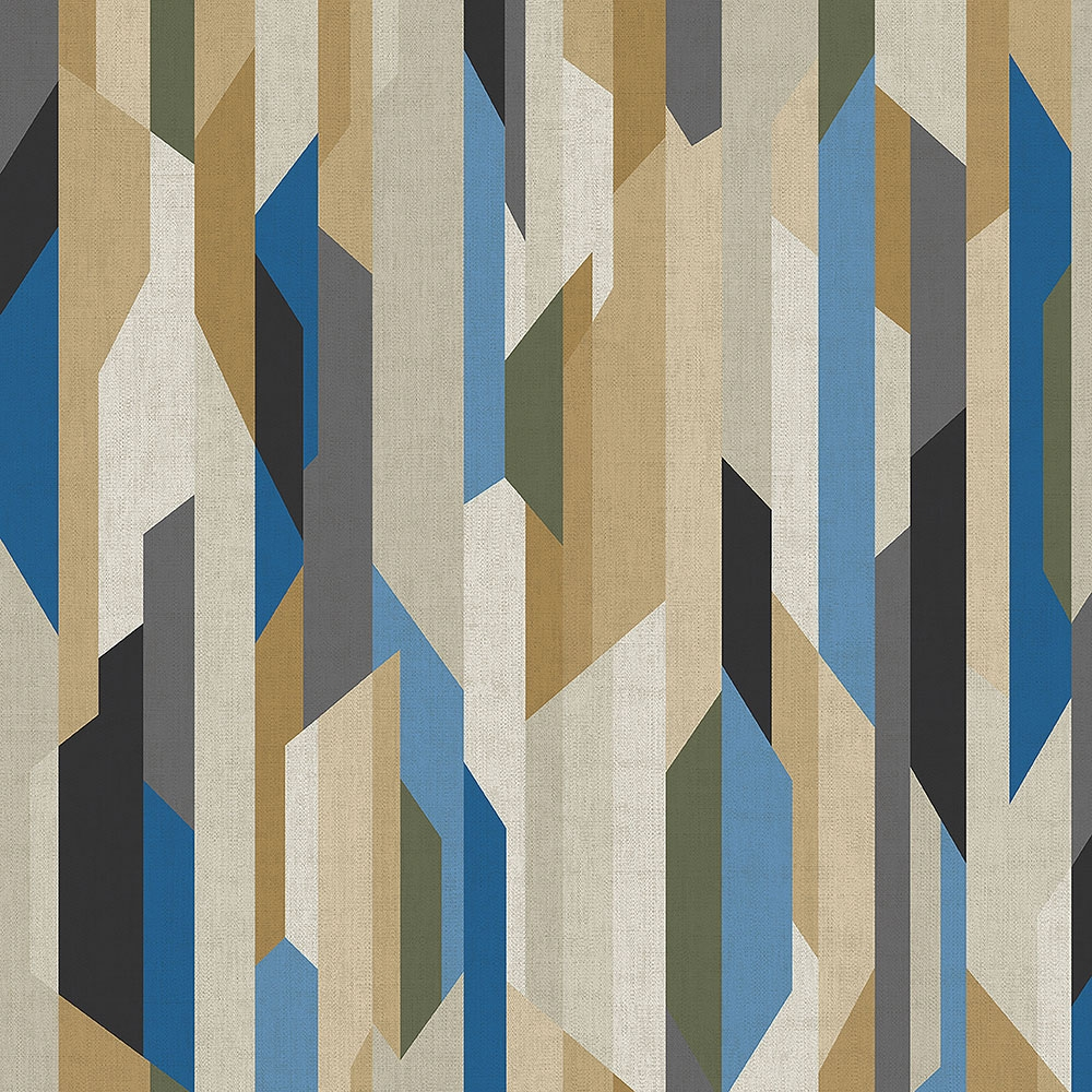 Geometric non-woven wallpaper MO22824, Geometry, Vavex