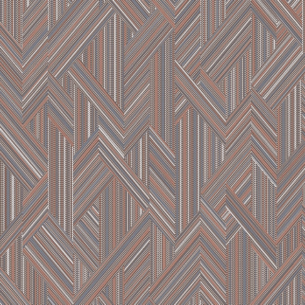 Non-woven wallpaper with a geometric pattern MO22840, Geometry, Vavex